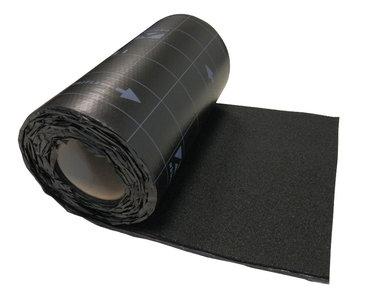 Ubiflex Standaard Zwart 25 cm x 12 mtr