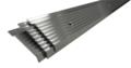 aluminium knelstrip - klemprofiel